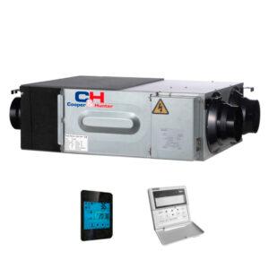 Приточно-вытяжная утсановка с рекуперацией CH-HRV8K2