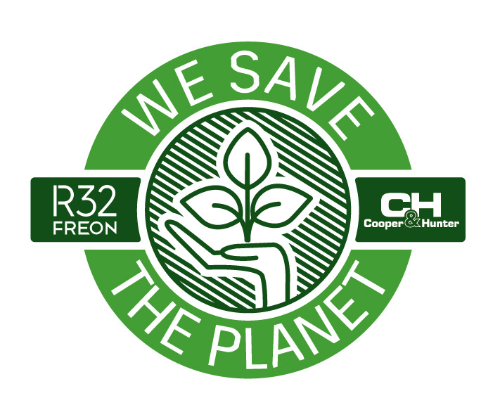 We save the planet logo